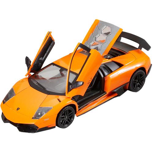 Оранжевый Машина 1:24 Lamborghini Murcielago SV LP670-4 (20 см, металл)