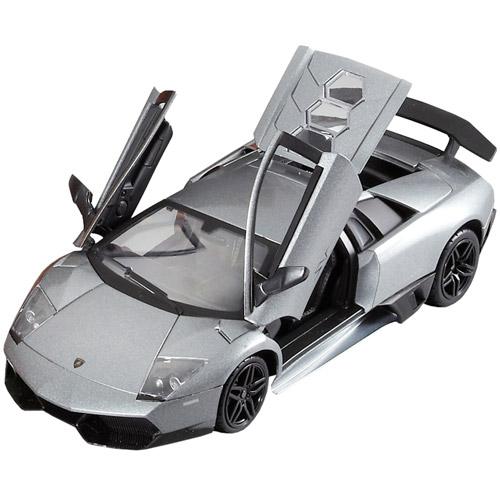 Черный Машина 1:24 Lamborghini Murcielago SV LP670-4 (20 см, металл)