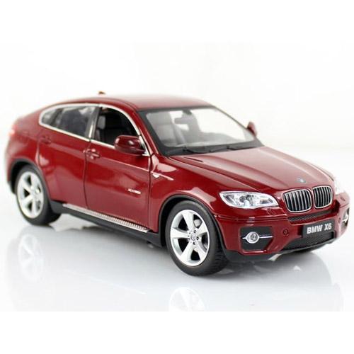 Маленькая металлическая радиоуправляемая BMW X6 с открывающимися дверьми (1:24, 20 см) - Картинка