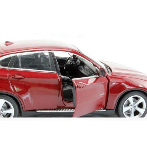 Маленькая металлическая радиоуправляемая BMW X6 с открывающимися дверьми (1:24, 20 см) - В интернет-магазине