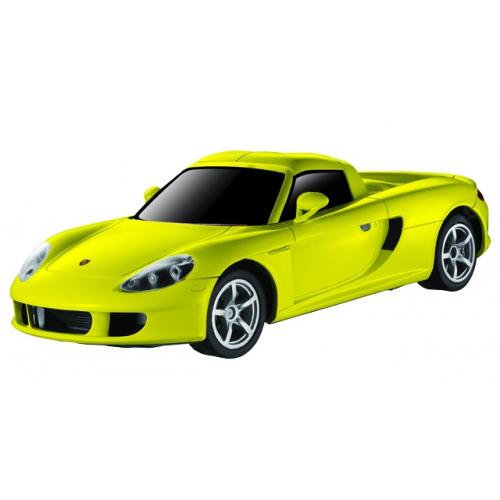 Желтый Радиоуправляемая Машинка Porsche Carrera (1:28, 18 см)