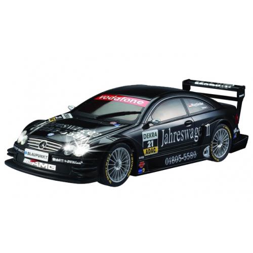Черный Маленькая радиоуправляемая машинка AMG Mercedes-Benz CLK DTM (1:28, 18 см)