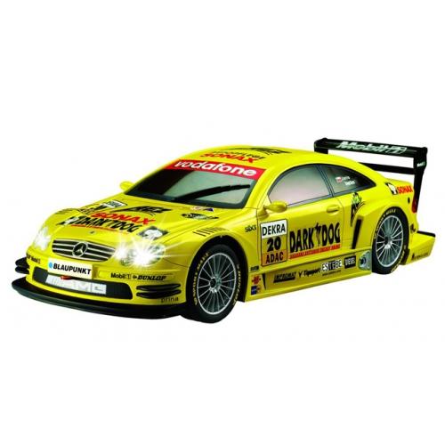 Желтый Маленькая радиоуправляемая машинка AMG Mercedes-Benz CLK DTM (1:28, 18 см)