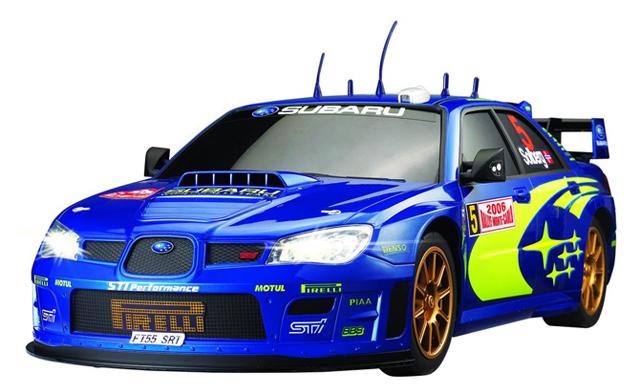 Радиоуправляемая Subaru Impreza (1:28, 18 см)