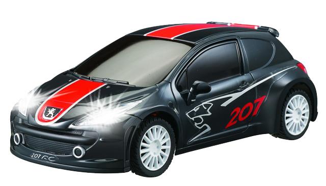 Маленькая радиоуправляемая машинка Peugeot 207 (1:28, 18 см)