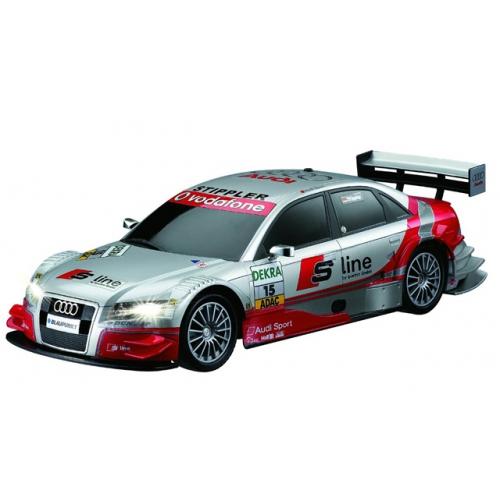 Маленькая радиоуправляемая машинка Audi A4 DTM (1:28, 18 см)