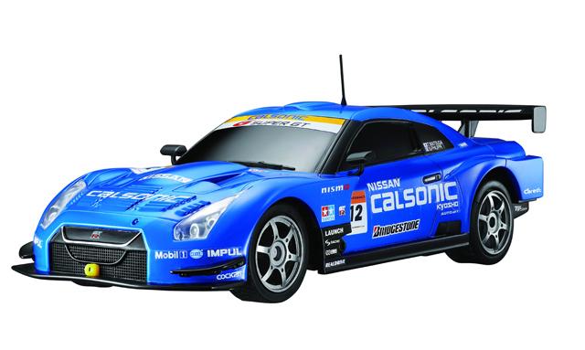 Маленькая радиоуправляемая машинка Nissan GTR GT500 (1:28, 18 см)