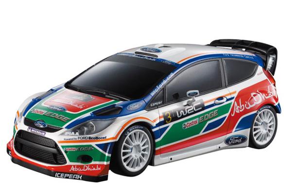 Маленькая радиоуправляемая машинка Ford Fiesta WRC (1:28, 18 см)