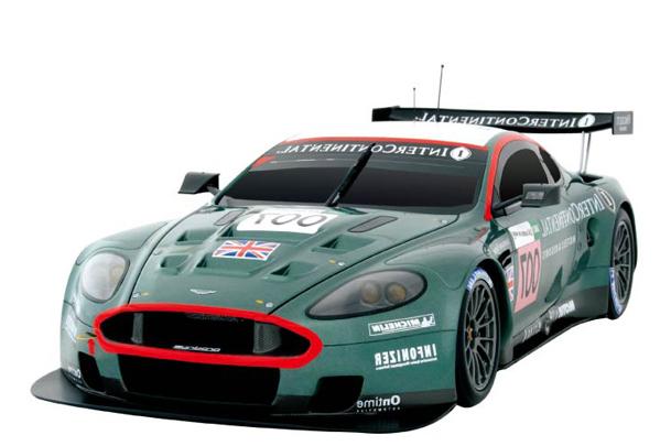Радиоуправляемая Машинка Aston Martin DB9 (1:28, 18 см)