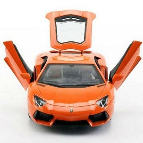 Радиоуправляемая Машина 1:24 Lamborghini LP700 (с рулем управления, металл, 21 см)  - Изображение