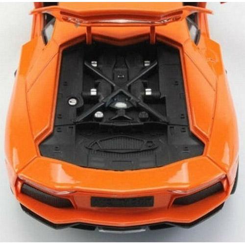 Радиоуправляемая Машина 1:24 Lamborghini LP700 (с рулем управления, металл, 21 см)  - Картинка