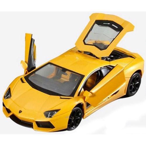 Радиоуправляемая Машина 1:24 Lamborghini LP700 (с рулем управления, металл, 21 см)  - Фотография