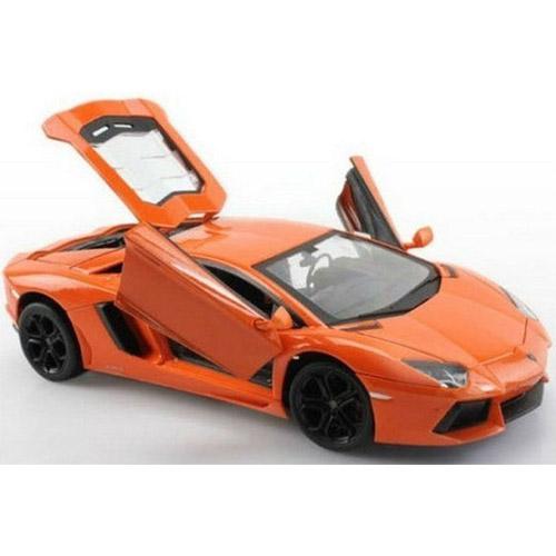 Радиоуправляемая Машина 1:24 Lamborghini LP700 (с рулем управления, металл, 21 см)  - Фото