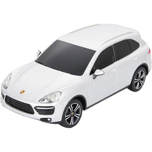 Белый Маленькая Радиоуправляемая Машинка Porsche Cayenne Turbo (1:24, 20 см)