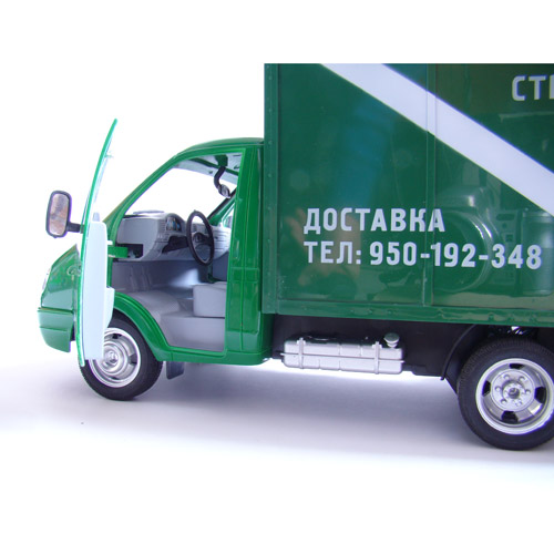 Радиоуправляемая ГАЗель с фургоном (47 см) - Фотография