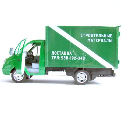 Радиоуправляемая ГАЗель с фургоном (47 см) - Изображение