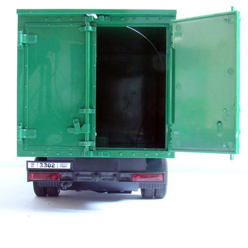 Радиоуправляемая ГАЗель с фургоном (47 см) - Фото