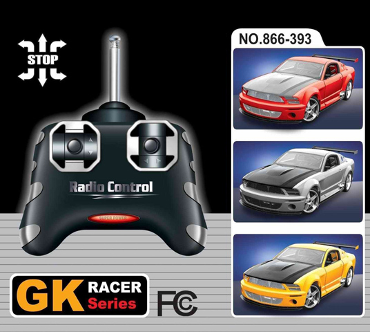 Маленькая радиоуправляемая машинка Ford Mustang GTR (1:28, 16 см) - В интернет-магазине