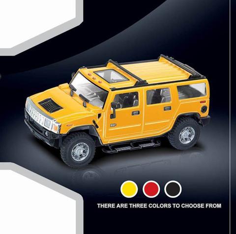 Маленькая Радиоуправляемая Машинка Hummer H2 (1:24 16 см) - В интернет-магазине