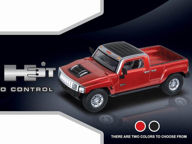 Радиоуправляемая Машинка 1:24 Hummer H3T (16 см) - В интернет-магазине