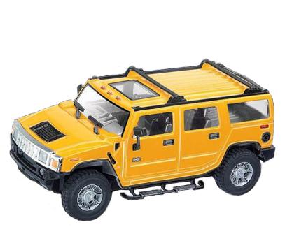 Маленькая Радиоуправляемая Машинка Hummer H2 (1:24 16 см)