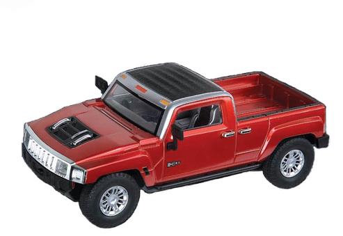 Радиоуправляемая Машинка 1:24 Hummer H3T (16 см)