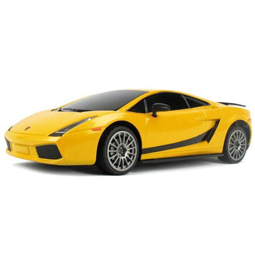 Маленькая радиоуправляемая Lamborghini Gallardo Superleggera (1:24, 18 см.)