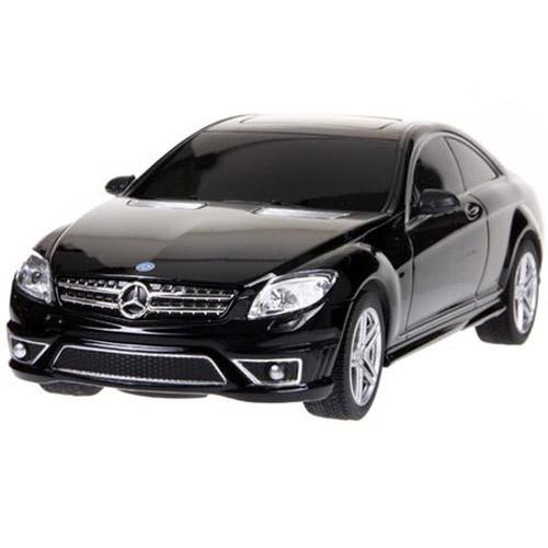 Черный Маленькая радиоуправляемая машинка Mercedes CL63 AMG (1:24, 20 см.)