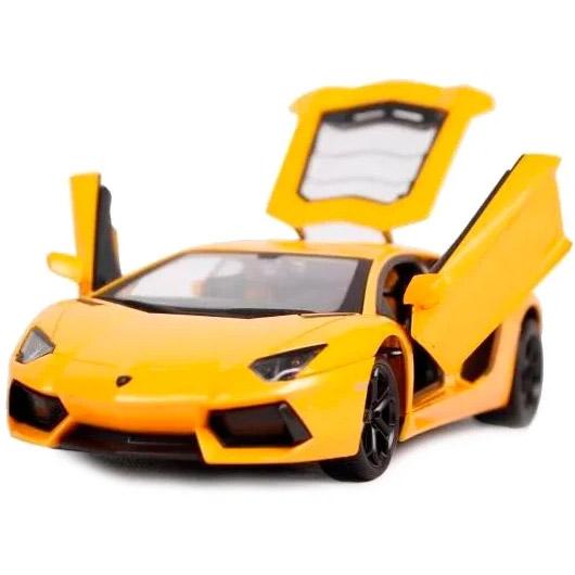 Радиоуправляемый Lamborghini Aventador (открываются двери, металлическая, 1:24, 20 см)