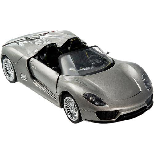 Радиоуправляемая Porsche 918 Spyder (из металла, открываются двери, 1:24, 19 см)
