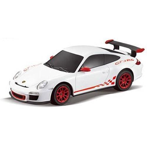 Белый Маленькая радиоуправляемая машинка Porsche 911 GT3 RS (1:24, 17 см)