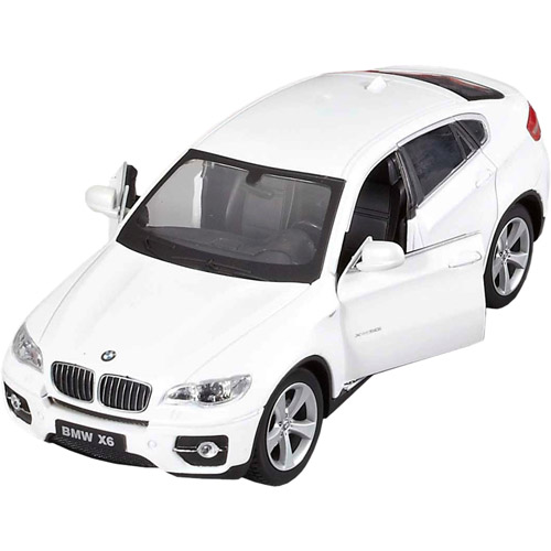 Маленькая металлическая радиоуправляемая BMW X6 с открывающимися дверьми (1:24, 20 см) - Фото
