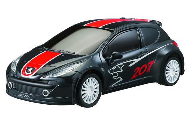 Радиоуправляемая мини Peugeot 207 (1:40, 11 см.)