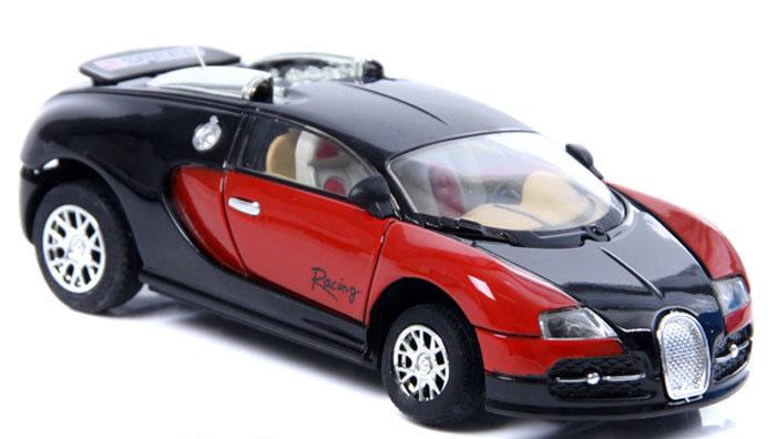 Радиоуправляемая мини Bugatti Veyron (1:43, 9 см.) - Картинка