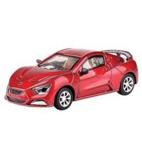 Красный Радиоуправляемый микро Lexus (1:43, 9 см.)
