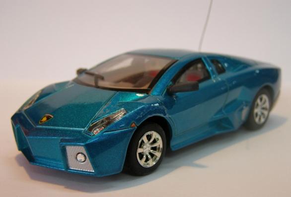 Радиоуправляемая микро Lamborghini (1:43, 9 см.) - Фотография