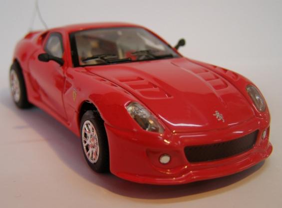 Радиоуправляемая микро Ferrari 599 (1:43, 9 см.) - В интернет-магазине