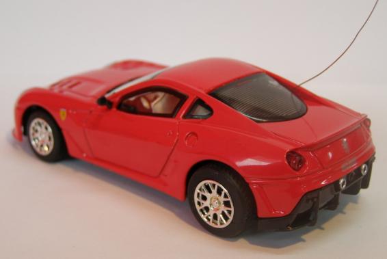 Радиоуправляемая микро Ferrari 599 (1:43, 9 см.) - Фото