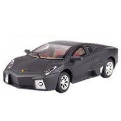 Черный Радиоуправляемая микро Lamborghini (1:43, 9 см.)