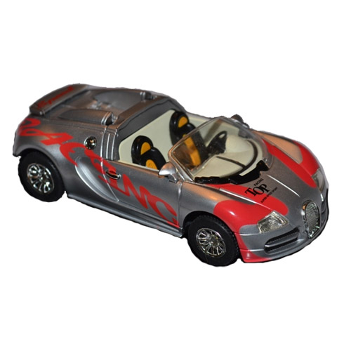 Радиоуправляемая микро Bugatti Veyron (1:52, 9 см.)