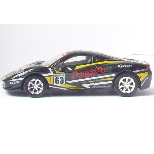 Радиоуправляемая Мини Ferrari (1:43, 10 см.) - Фото