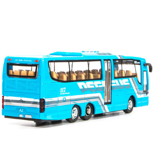 Радиоуправляемый Мини-Автобус City Bus (1:76, 14 см.) - Изображение