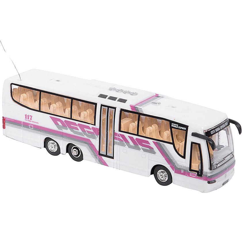 Белый Радиоуправляемый Мини-Автобус City Bus (1:76, 14 см.)