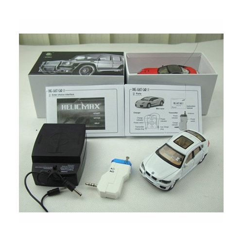 Микро-машинка BMW (управление от Android)