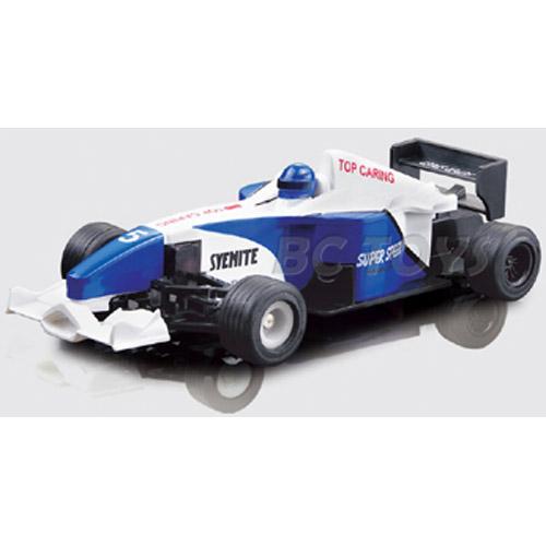 Синий Радиоуправляемый Мини болид Формулы 1 (10 см.)