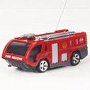 Модель 2 Радиоуправляемая Мини Пожарная машина (1:63, 8 см.)