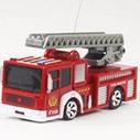 Пожарная автолестница Радиоуправляемая Мини Пожарная машина (1:63, 8 см.)