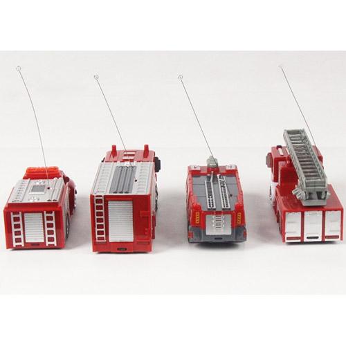 Радиоуправляемая Мини Пожарная машина (1:63, 8 см.) - Картинка