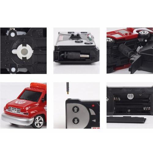 Радиоуправляемая Мини Пожарная машина (1:63, 8 см.) - В интернет-магазине