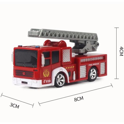 Радиоуправляемая Мини Пожарная машина (1:63, 8 см.) - Фото